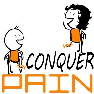 Conquer Pain Logo