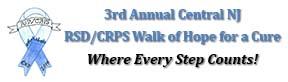 RSD/CRPS Walk of Hope, Central NJ