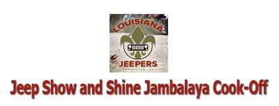 Jeep Show and Shine & Jambalaya Cook-Off