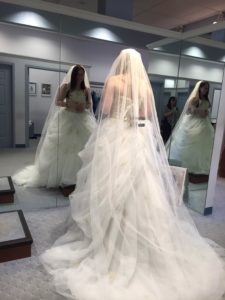 RSDSA Special Event Coordinator Sammie Barrett discusses wedding dress shopping with CRPS RSD
