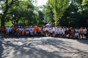 2016 RSDSA group with CRPS/RSD at the final walk in Central Park