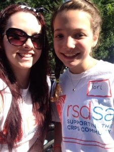 RSDSA Sammie and Tori that both have CRPS/RSD