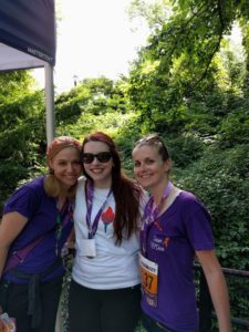 RSDSA Special Events Coordinator Sammie with the RSDivas, Ginger and Kerry. All are battling CRPS/RSD