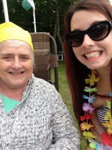 Author Samantha and her nana don't compare pain but instead help each other through their respective pain. Cancer and CRPS may be different, but pain is pain.
