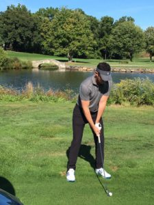 Zach Baron played a full day's worth of golf on behalf of RSDSA