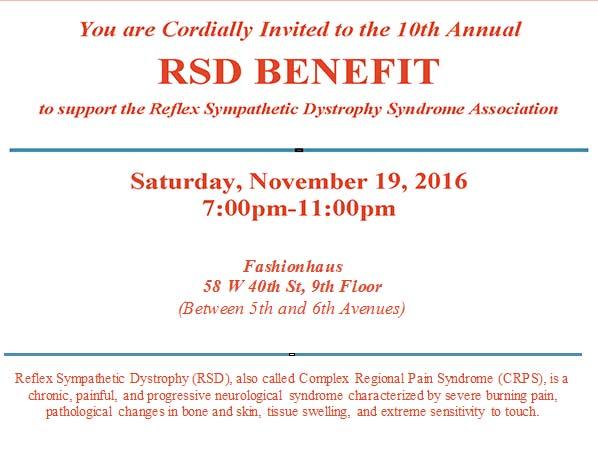 10th Annual RSD Benefit at Fashionhaus