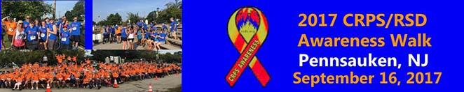 2017 CRPS/RSD Awareness Walk