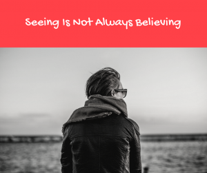 Gabe details how seeing is not always believing when it comes to chronic pain and perception. How do we ignore what others see?