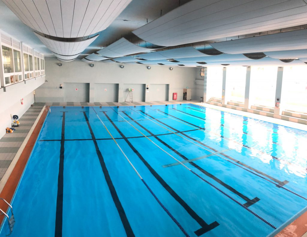 indoor swimming therapy CRPS RSDSA